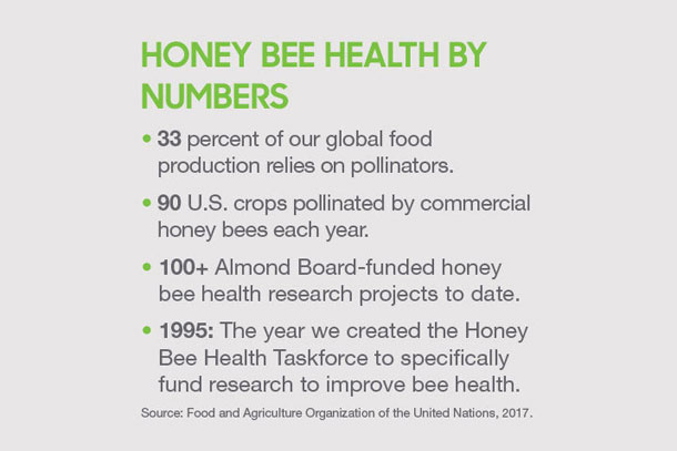 Honey bee health by the numbers